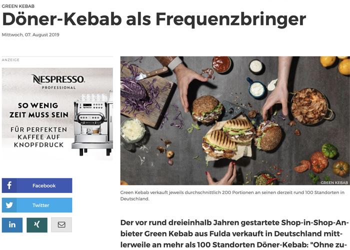 Döner-Kebab als Frequenzbringer